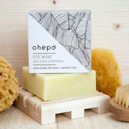 Soaps - Organic soap PETITE NATURE - OHËPO