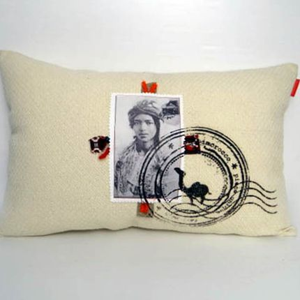 Cushions - Postcard Cushion - SISSIMOROCCO
