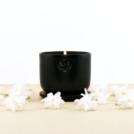 Candles - SCENTED CANDLE - TUBEROSE - SMELL - LUMINOSENS