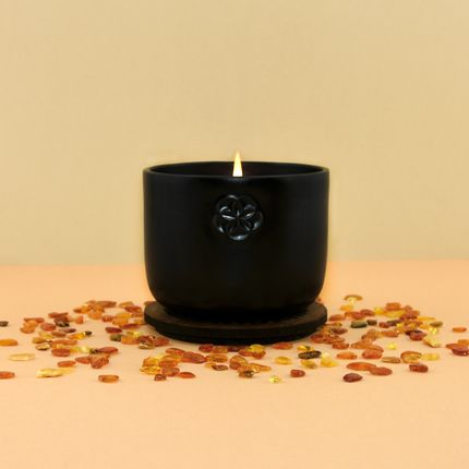 Candles - SCENTED CANDLE - AMBER - TOUCH - LUMINOSENS