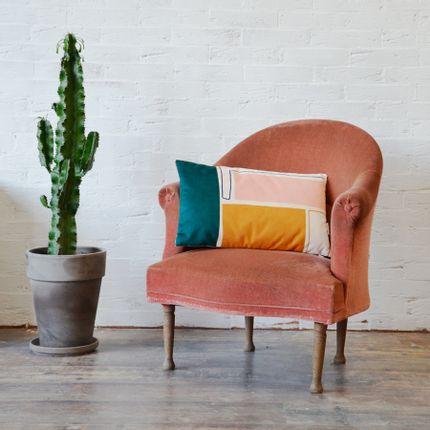 Cushions - Velvet cushion Meteore - SHANDOR