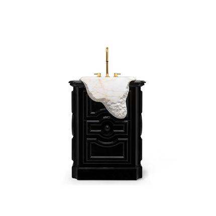 Meubles pour salles de bains - Lavabo Sur Pied Petra - MAISON VALENTINA