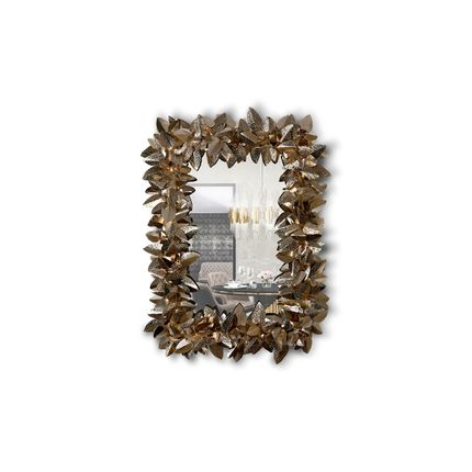 Mirrors - Mcqueen Rectangular Mirror  - COVET HOUSE