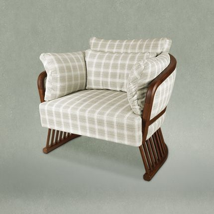 Armchairs - Johnson Armchair  - WOOD TAILORS CLUB
