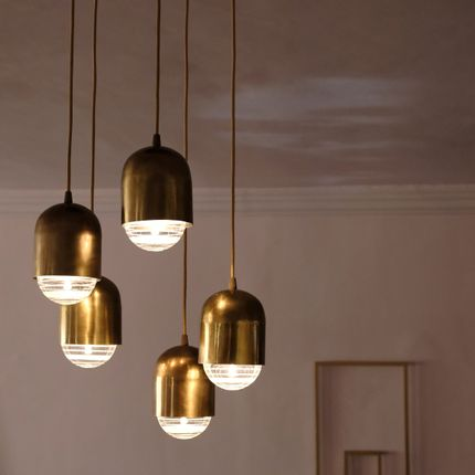 Hanging lights - Pendant domes - ATELIER LANDON