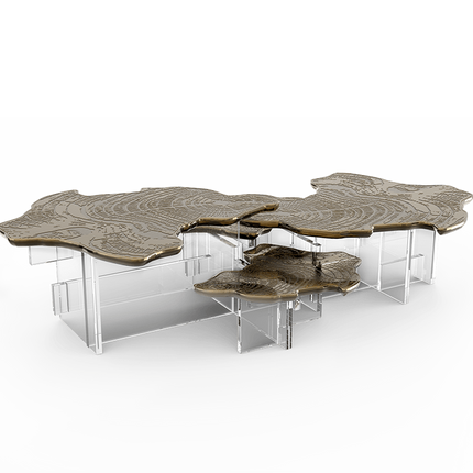 Tables basses - MONET PATINE Table centrale - BOCA DO LOBO