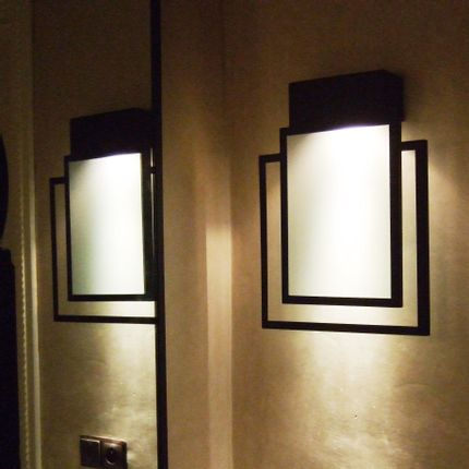 Wall lamps - Art Deco wall lamp - ATELIER LANDON