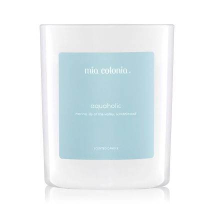 Candles - candle aquaholic - MIA COLONIA