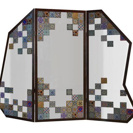 Mirrors - Camelia Folding Screen - MALABAR
