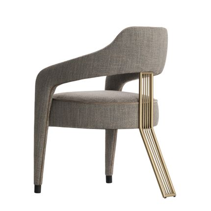 Chairs - Invicta II Dining Chair - CASA MAGNA COLLECTION