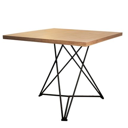 Tables - Starbase table with plywood top - LIVING MEDITERANEO
