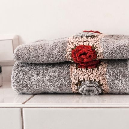 Serviette de bain - York Serviettes en coton égyptien - MAISON ZOE
