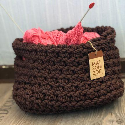 Storage - Crochet Fabric Basket - MAISON ZOE