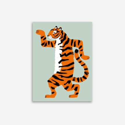 Affiches - AFFICHE ARTISTIDE LE TIGRE - SHANDOR