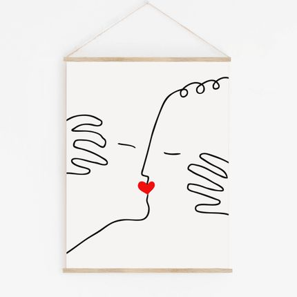 "Wall decoration - WALL HANGING "" THE KISS"" - SHANDOR"