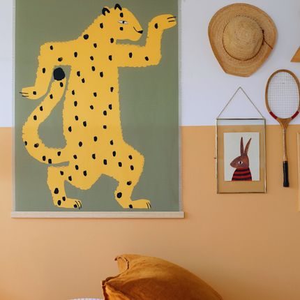 Wall decoration - WALL HANGING GASPARD THE GUEPARD - SHANDOR