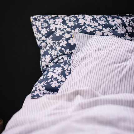 Bed linens - COTTON PERCALE PILLOW CASE - LES PENSIONNAIRES