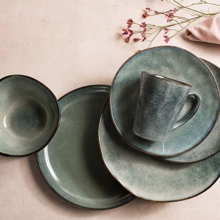 Everyday plates - Gemeo Wade – plate 28cm – Grey - GEMEO TABLEWARE