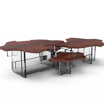 Tables basses - MONET PALISANDER Table centrale - BOCA DO LOBO