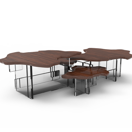 Coffee tables - MONET PAU SANTO Center Table - BOCA DO LOBO