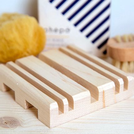 Installation accessories - STRAT Maple Wood Soap Dish - OHËPO