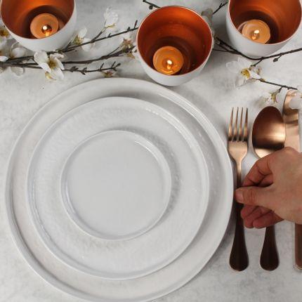 Everyday plates - Gemeo Zino – Plate 22,0 cm – White - GEMEO TABLEWARE