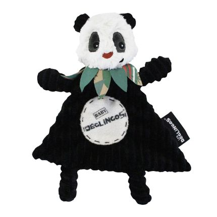 Soft toy - Baby Rototos the panda - LES DEGLINGOS