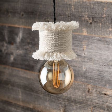 Blinds - Natural cow or leather lampshade - STUDIO SABATIER