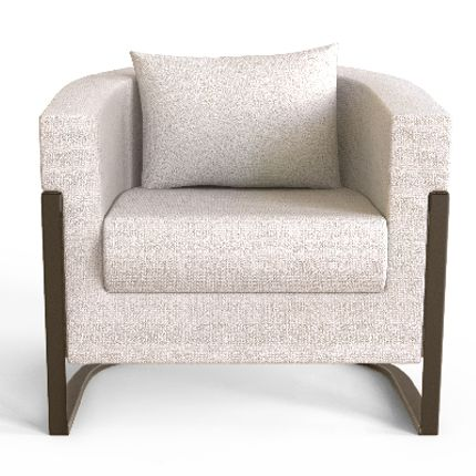 Armchairs - Colombia Armchair - CAFFE LATTE