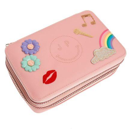 Loisirs créatifs - Pencil Box Filled Lady Gadget Pink - JEUNE PREMIER