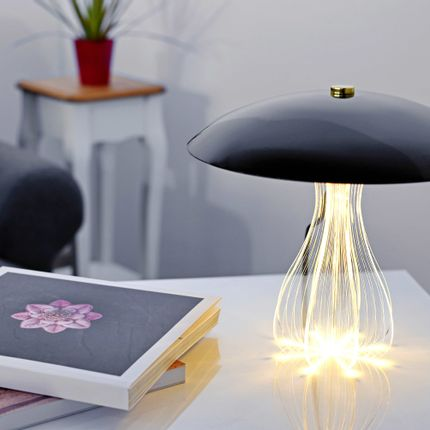 Table lamps - Epica Nero table lamp - ZINTEH LIGHTING