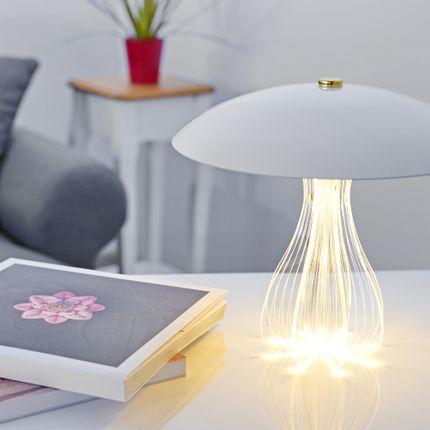 Lampe de bureau - Epica Bianco Lampe de bureau  - ZINTEH LIGHTING