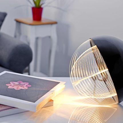 Table lamps - Oblò Nero table lamp - ZINTEH LIGHTING