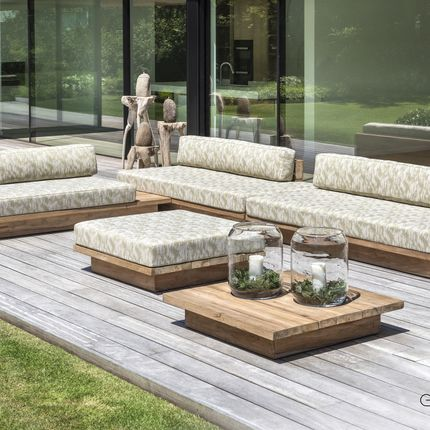 Lawn sofas   - Magnus lounge - GOMMAIRE (G. CLEYBERGH)