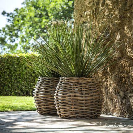 Flower pots - Planter basket Eric - GOMMAIRE (G. CLEYBERGH)