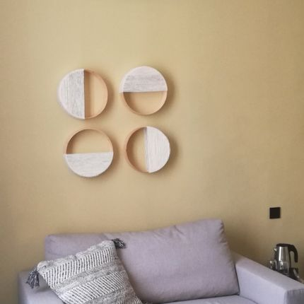 Wall decoration - Wall lamp Loops pattern 4 - VANSKA