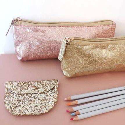 Clutches - Glitter Pencilcase - LUCIOLE ET PETIT POIS