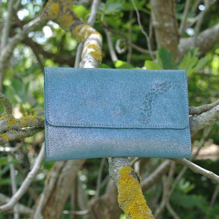 Leather goods - Glitter leather companion wallet - LA CARTABLIÈRE