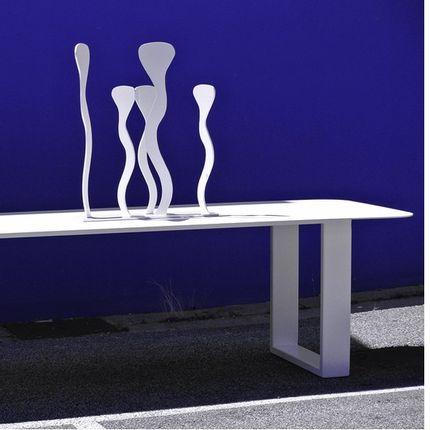 Chairs - TABLE COMPORTA IN METAL AND COLORS - TERRE ET METAL