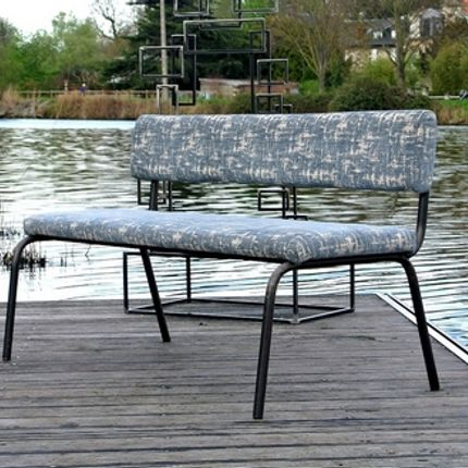 Benches - SCHOOL BENCH - TERRE ET METAL