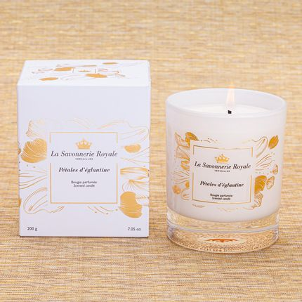 Candles - Pétales d'églantine scented candle- Sublimation - LA SAVONNERIE ROYALE