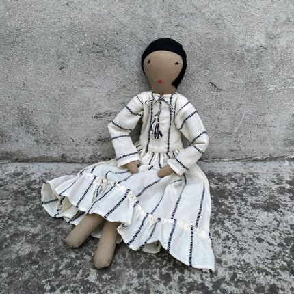 Decorative objects - Calla Cotton doll - SILAIWALI