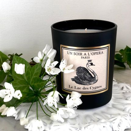 Candles - Scented candle natural vegetable wax LE LAC DES CYGNES - UN SOIR A L'OPERA