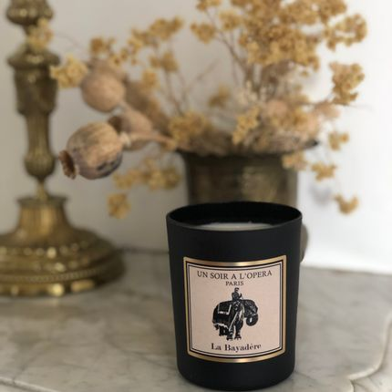 Candles - Scented candle wax 100% vegetable - LA BAYADERE - UN SOIR A L'OPERA