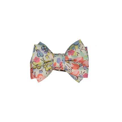 Kids accessories - Double Bow Mini Hairclip - LUCIOLE ET PETIT POIS