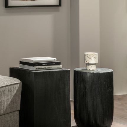 Coffee tables - Wooden Side Tables - DÔME DECO
