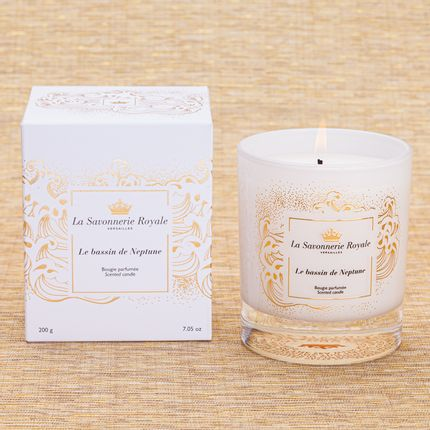 Candles - Le Bassin de Neptune Scented Candle - Sublimation - LA SAVONNERIE ROYALE