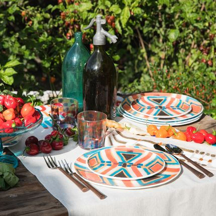 Formal plates - Murano glass plates collection  - LE BOTTEGHE DI SU GOLOGONE