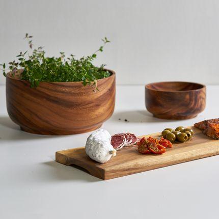 Bowls - Acacia bowls footed - KINTA