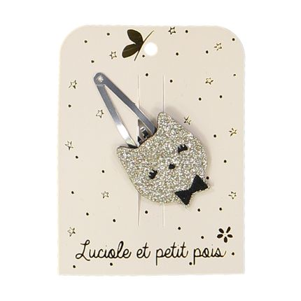 Kids accessories - Cat Hairclips  - LUCIOLE ET PETIT POIS